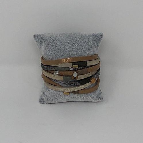 Artisan Metallic Magnetic Bracelets
