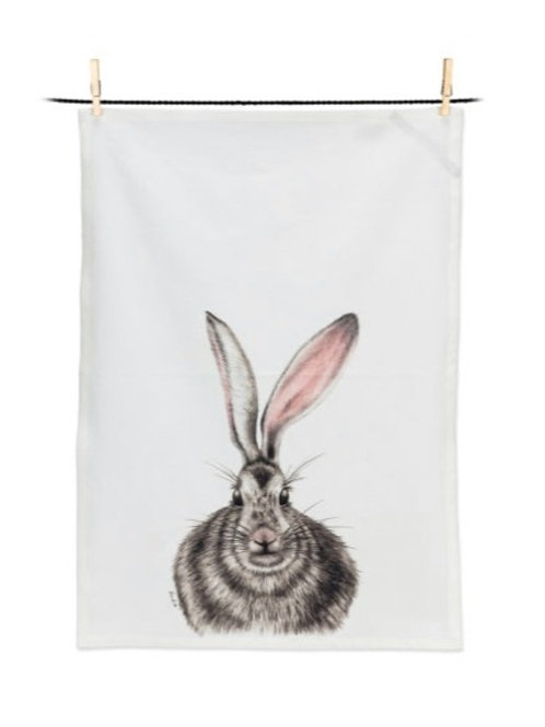 Henrietta Rabbit Tea Towel