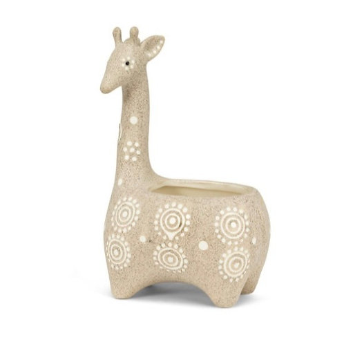 Giraffe Shaped Planter