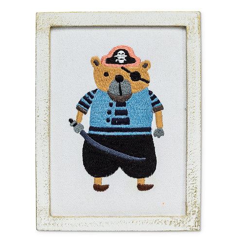 Pirate Bear Wall Art