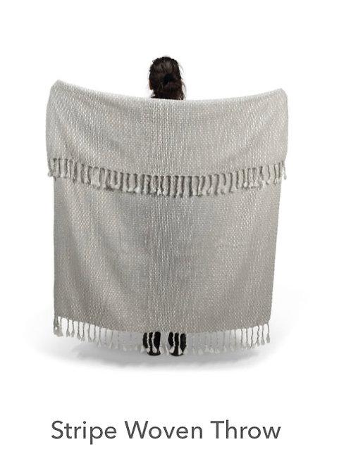 Stripe Woven Blanket