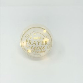 The Light Within Glass Orbs - I Said a Prayer for YouToday