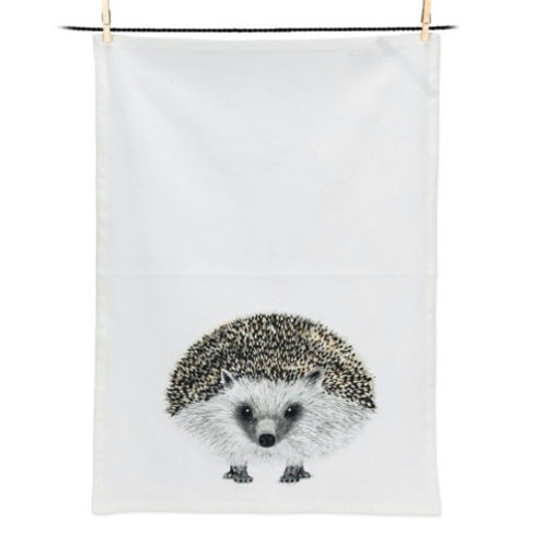 Henry Hedgehog Tea Towel