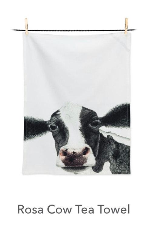 Rosa Cow Tea Towel