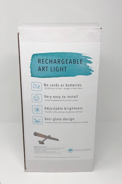 Rechargeable Art Light