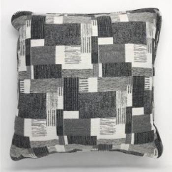 Fabric Pillow Pixel Grey