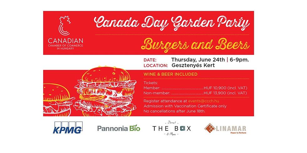 Canada Day Garden Party