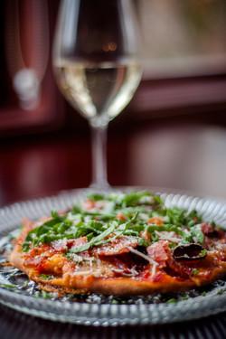 Prosciutto Flatbread Pizza