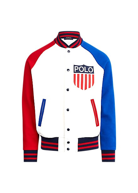 Ralph Lauren Polo Shield Baseball Jacket