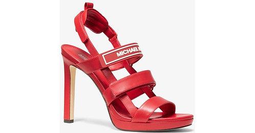 Michael Michael Kors Demi Sandals -Red