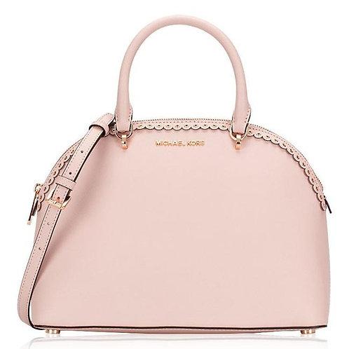 Michael Kors Emmy Dome Satchel Bag, Blossom