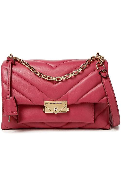MICHAEL MICHAEL KORS Cece quilted leather shoulder bag Berry