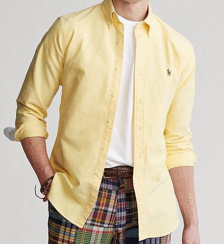 Polo Ralph Lauren Classic Fit Oxford Shirt YELLOW