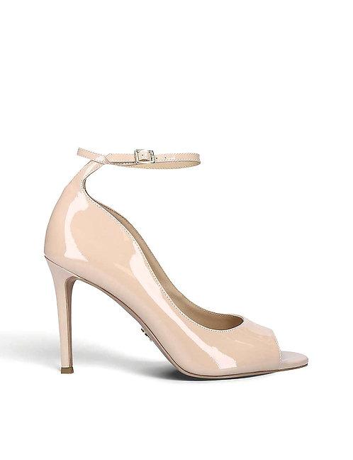 MICHAEL MICHAEL KORS Danielle open-toe heeled leather courts