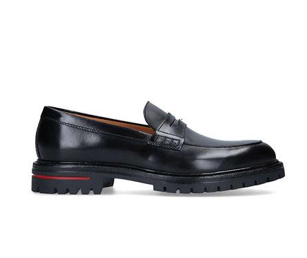 KURT GEIGER LONDON WIMBLEDON Men  leather loafers