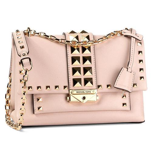 MICHAEL KORS Cece  leather Shoulder Bag soft pink medium