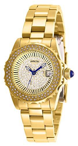 Invicta 28441 Angel Women's Wrist Watch stainless steel Quartz Gold Dial