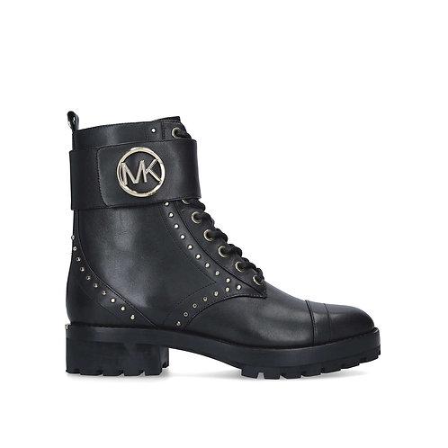 MICHAEL MICHAEL KORS Tatum Leather and Logo Combat
