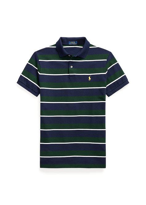 Polo Ralph Lauren Slim Fit Mesh Polo Shirt college Green  multi