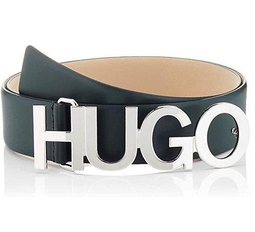 HUGO Women's Zula Belt 4 Cm Zl Belt Dark Biege