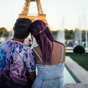 Adi si Alina @Paris