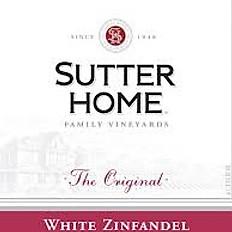 Sutter Home White Zinfandel (California)