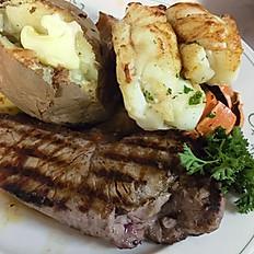 Sirloin Steak & 7 oz. Lobster Tail