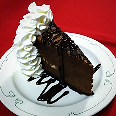 Chocolate Toffee Mousse Cake