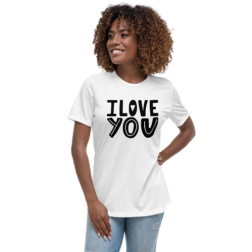 I LOVE | Women's Bella+Canvas Relaxed T-Shirt 6400
