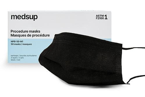 Medical Procedure Mask Level 1 – Black