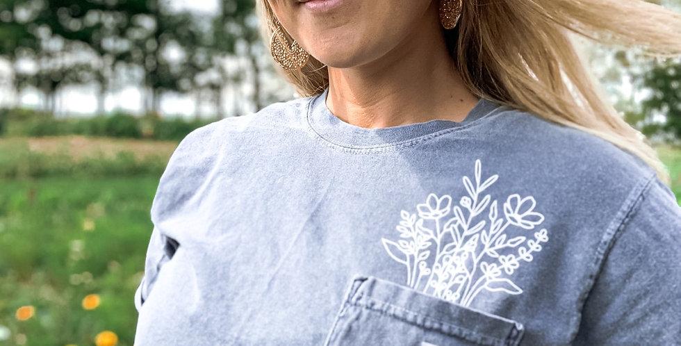 Jeffries Farm pocket t-shirt (pre-order)