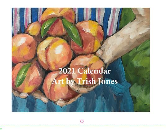 2021 Wall Calendar Art by Trish Jones