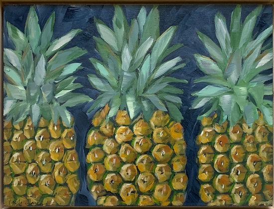 Triplet Pineapples