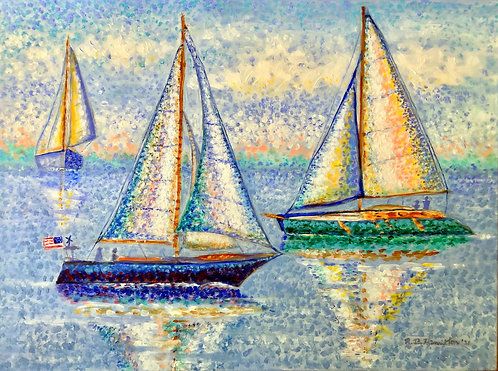 Sailing By by Dick Hamilton