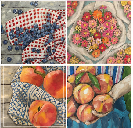 Notecards Set of 8 - Summer Delicious Series