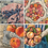 Thumbnail: Notecards Set of 8 - Summer Delicious Series