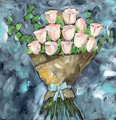 Bouquet of Love 12x12