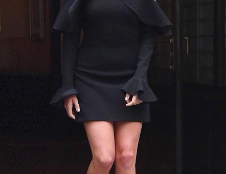 Margot Robbie Flaunts Her Sexy Figure In Bodycon Dresses