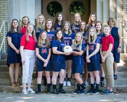 PCS Varsity VB Team 2020-18