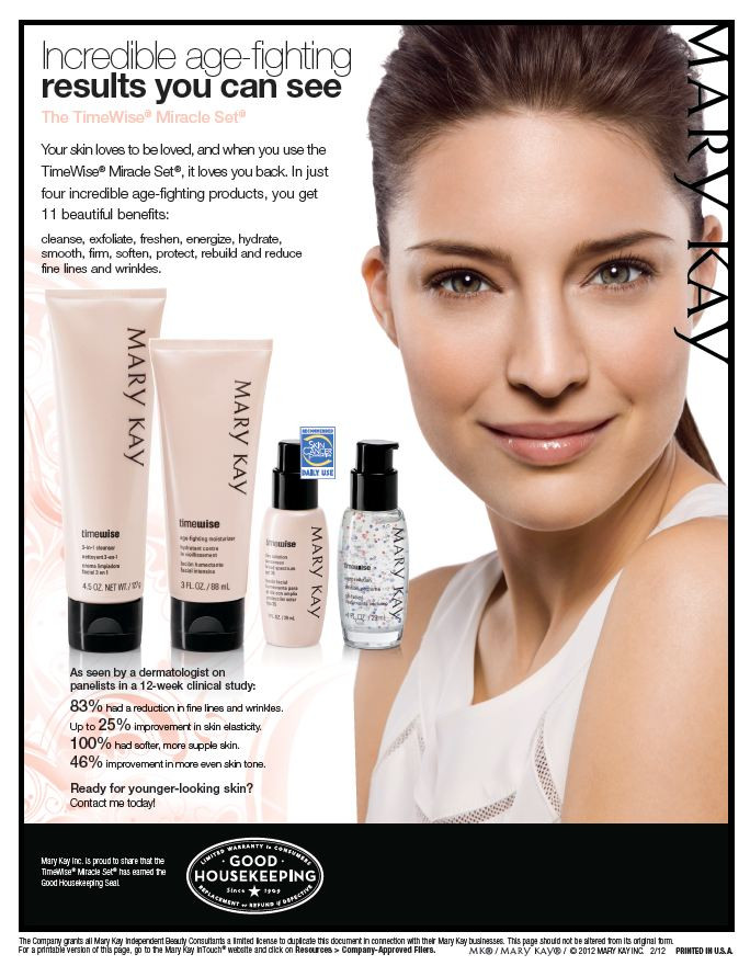 Mary Kay Age Fighting Miracle Skincare Set