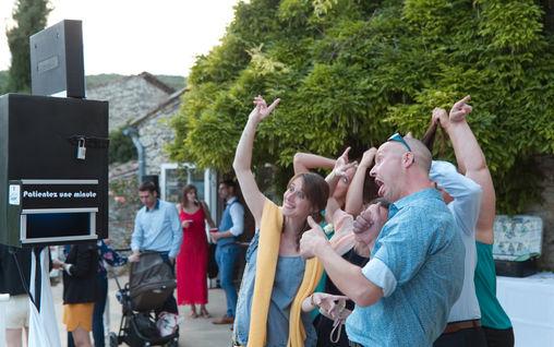 Photo photomaton mariage borne booth montpellier photomaton mariage