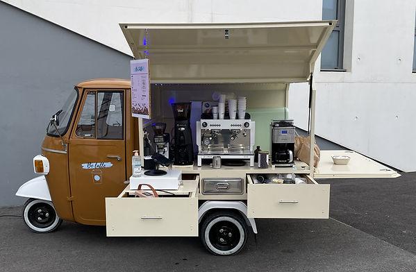 Triporteur café montpellier