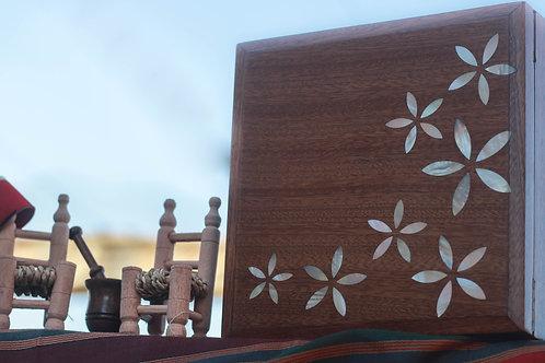 Vierkante opbergdoos 20 x 20 cm