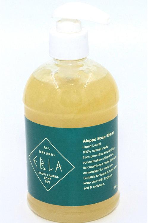 Vloeibare zeep met 35% laurier 500 ml