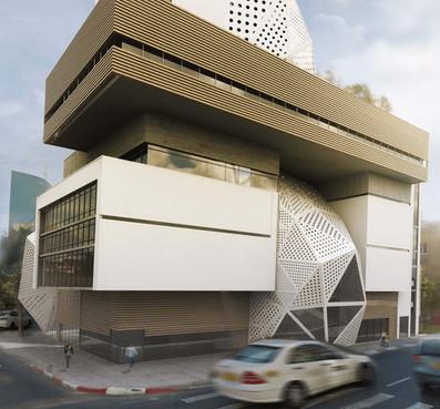 Performing & Visual arts center   Tel Aviv