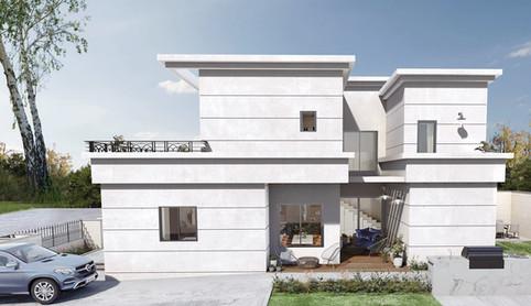Privet villa   Netivot   Meir Alon Engineering  Ltd.