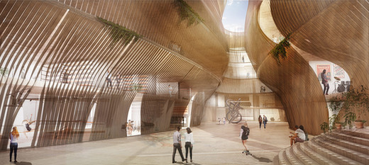 Theoretical Project | Tel Aviv Central Station | Israel