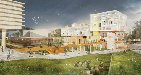 Architectural competition   TLV  School of Architecture   Kisselov-Kaye Architects