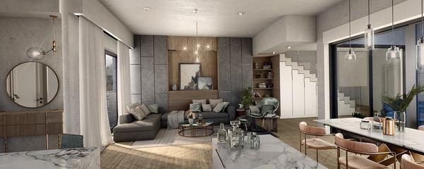Modern living room   Netivot