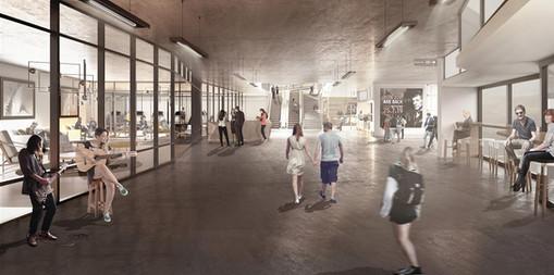 Theoretical Project | Tel Aviv Central Station  | ARCH. Sapir Gadlya